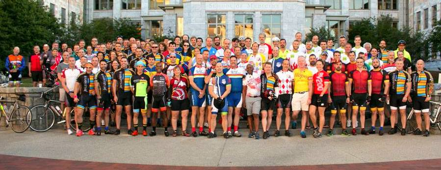 AIDS Vaccine 200 AV200 Cyclists Pre-Ride 2016